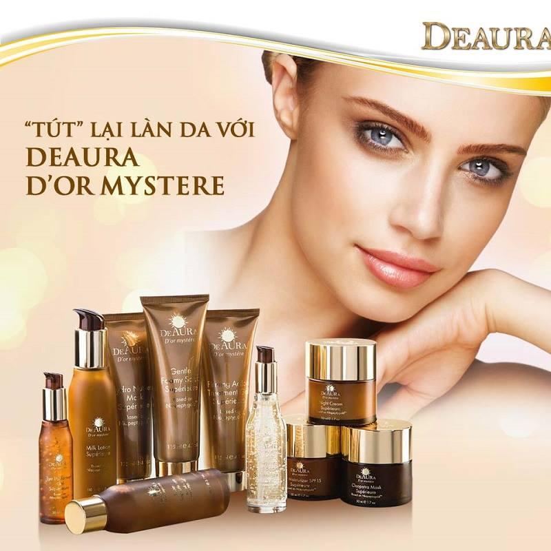 D'or Mystere Bộ sản phẩm chăm sóc da cao cấp Deaura