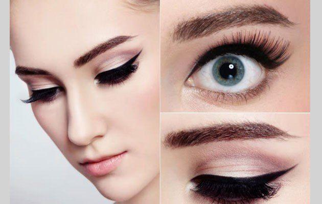 Chọn cách kẻ cho phù hợp với màu mắt