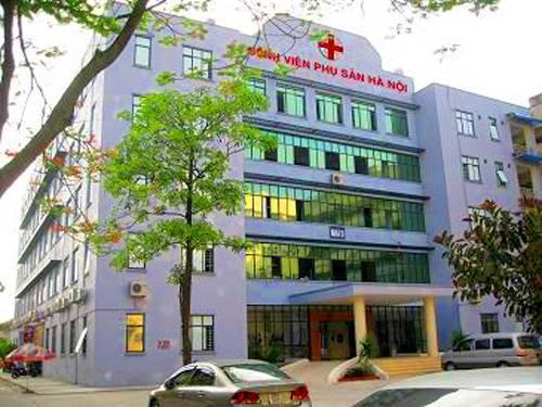 Khu D3 bệnh viện Phụ sản Hà Nội
