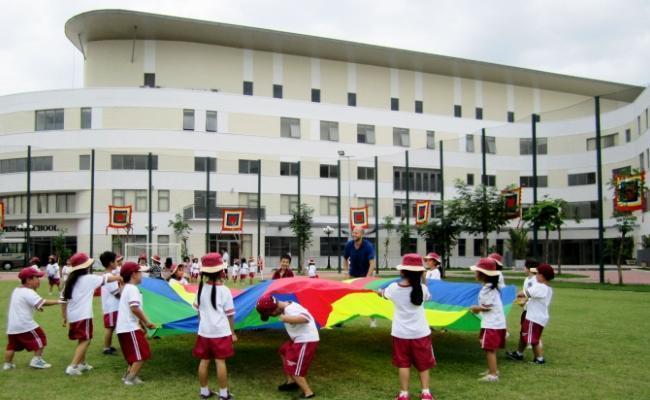 Trường quốc tế vài năm trở lại đây được quảng bá rất nhiều