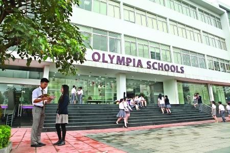 TrườngPhổ thông liên cấp Olympia có vị trí thuận tiện