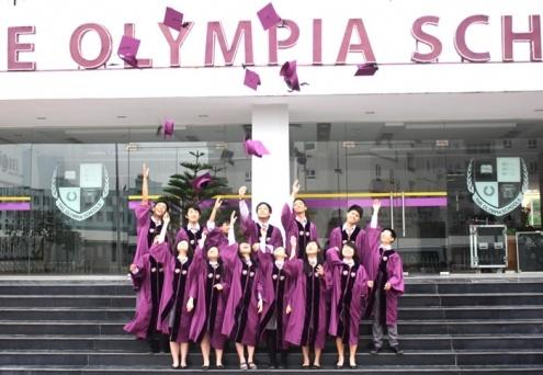 TrườngPhổ thông liên cấp Olympia có quy mô lớn