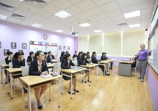 Lớp học được tổ chức linh hoạt