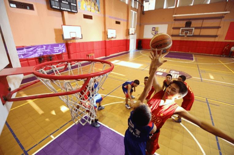 Phòng thể thao đa năng nơi các em rèn luyện sức khỏe