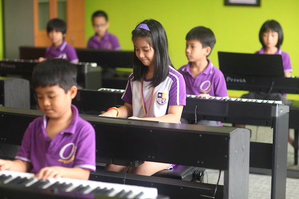 Phòng học nhạc và các phòng năng khiếu hiện đại