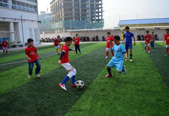 Sân thể thao ngoài trời chuẩn quốc tế