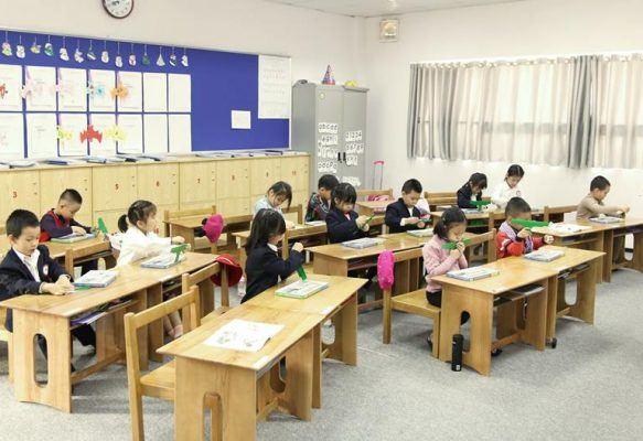 Lớp học được thiết kế thân thiện