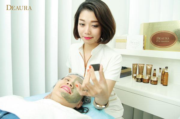 Lộ trình chăm sóc da mặt tại hãng mỹ phẩm Deaura