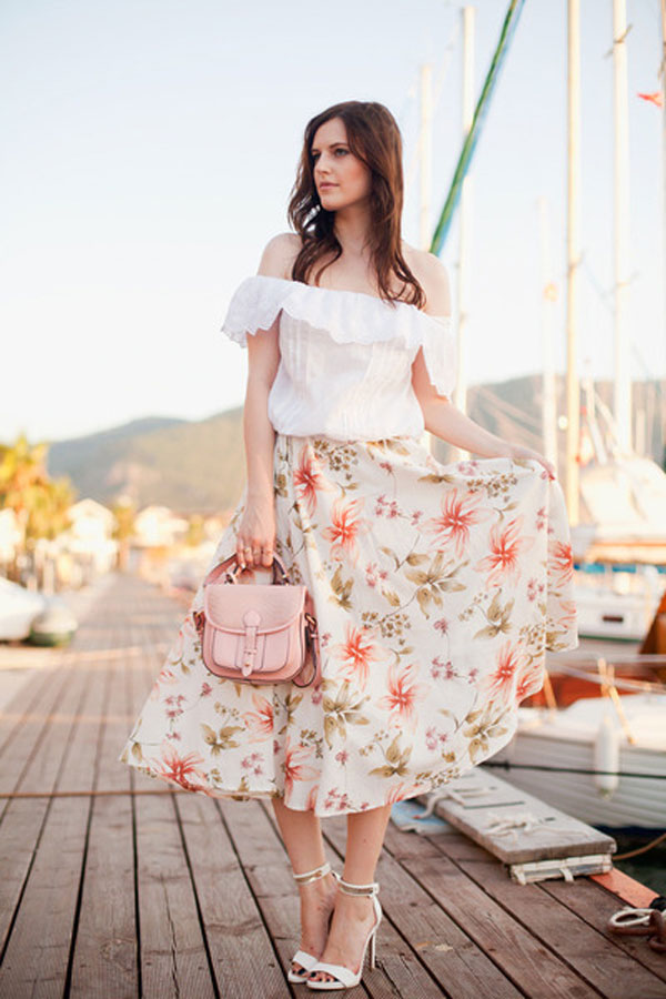 Mẫu đầm chất liệu vải mềm - Áo đầm đẹp tuổi 30