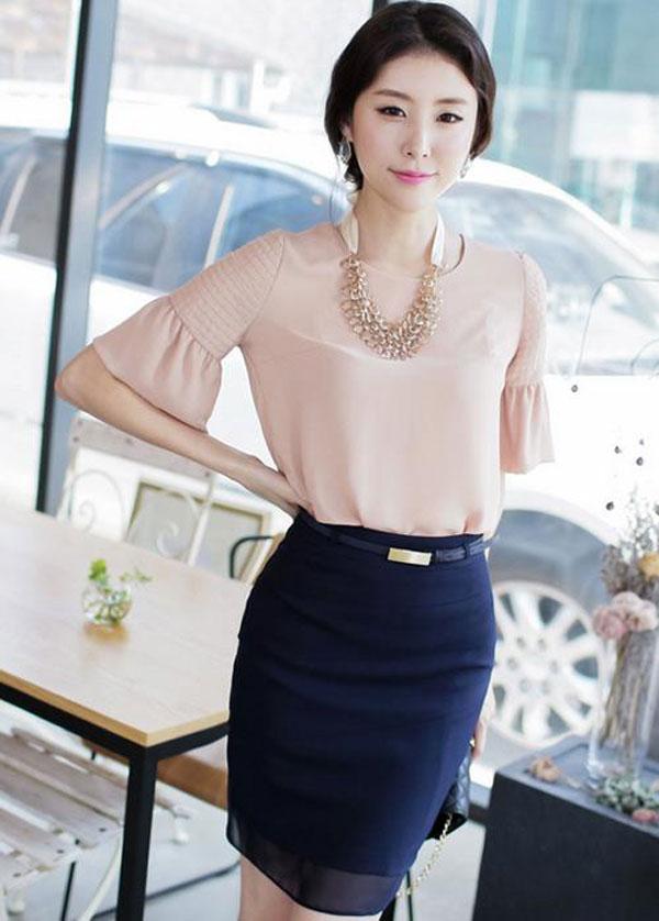 Mẫu đầm công sở -Mẫu váy liễn phụ nữ tuổi 30