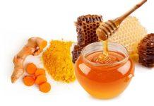 Cách làm mặt nạ tinh bột nghệ mật ong 2