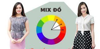 phối màu sắc trang phục chuẩn theo bảng màu thời trang 01